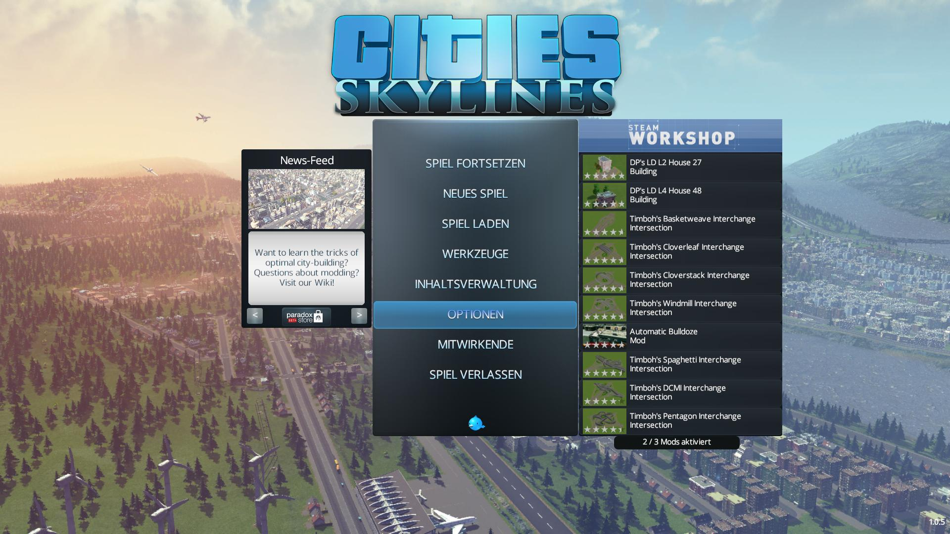 Cities Skylines Angespielt