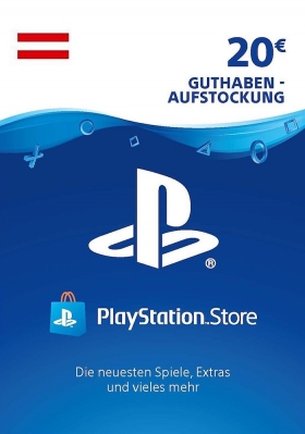 Sony PSN Card 20 Euro AT (Österreich) - Playstation Network