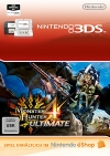 Monster Hunter 4 Ultimate eShop Wii 3DS WiiU