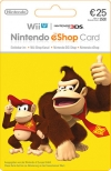Nintendo eShop Wii 3DS WiiU Switch Gamecard 25 EUR