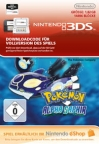 Pokemon Alpha Saphir eShop Wii 3DS WiiU