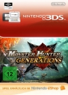 Monster Hunter Generations eShop Wii 3DS WiiU