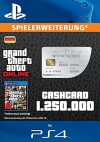 GTA Grand Theft Auto Online Great White Shark Cash Card PS4
