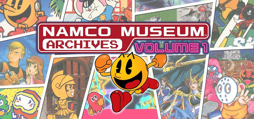 NAMCO Museum Archives Volume