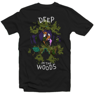 Fox N Forests T-Shirt 'Deep in the Woods' - Größe: L