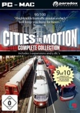 Cities in Motion Complete Collection (PC - Mac)