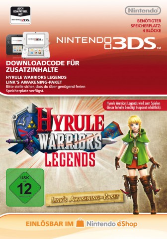Hyrule Warriors: Legends - Link's Awakening Pack - eShop Code