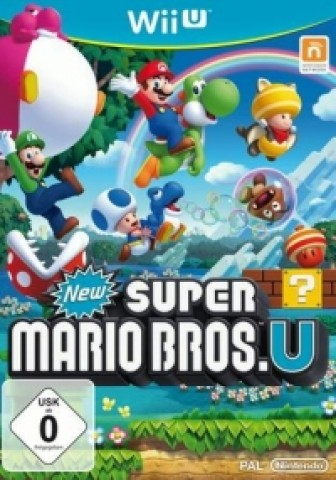 New Super Mario Bros. U + New Super Luigi U - eShop Code