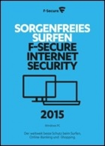 F-secure Internet Security 2015 - 3 PC - 1 Jahr
