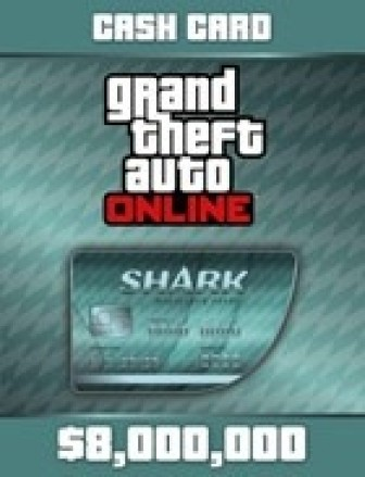 Grand Theft Auto Online: Megalodon Shark Cash Card
