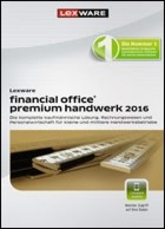 Lexware financial office premium handwerk 2016