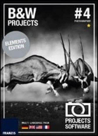 BLACK & WHITE projects 4 elements