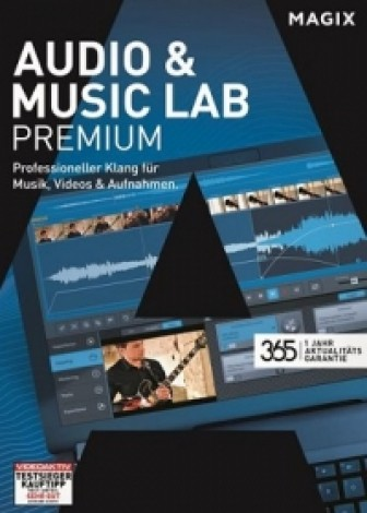 MAGIX Audio & Music Lab Premium
