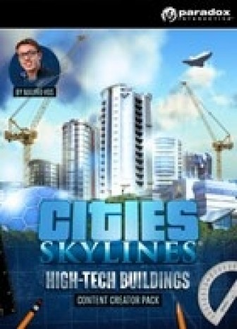 Cities: Skylines - Content Creator Pack: High-Tech Buildings