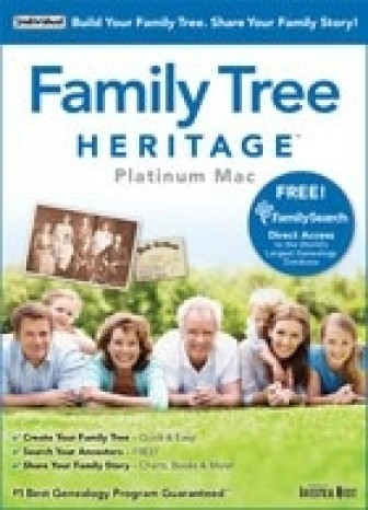 Family Tree Heritage  Platinum 9 - Mac