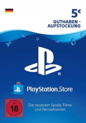 PSN Card 5 Euro DE (Deutschland) - Playstation Network