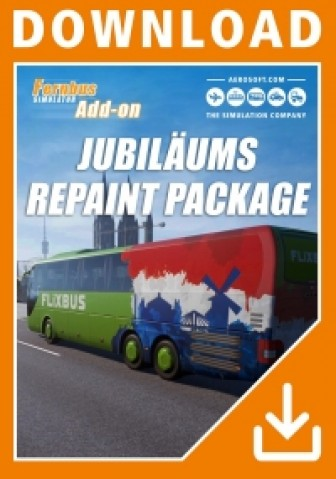 Fernbus Simulator - Jubiläums Repaint Package Add-on