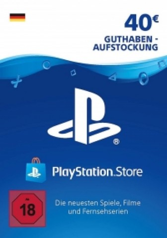 PSN Card 40 Euro DE (Deutschland) - Playstation Network