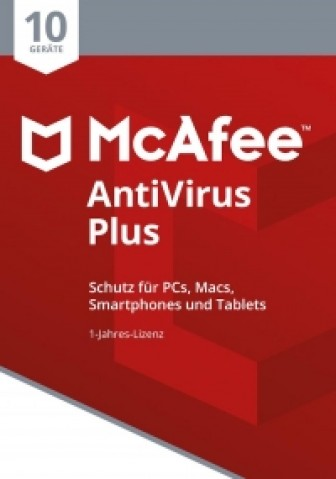 McAfee AntiVirus Plus 2018 - 10 User - 1 Jahr
