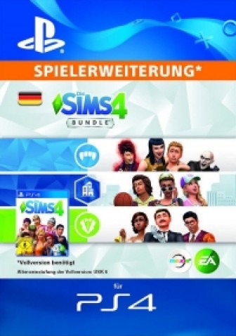 Die Sims 4 - DLC Bundle 6 - PS4 Code