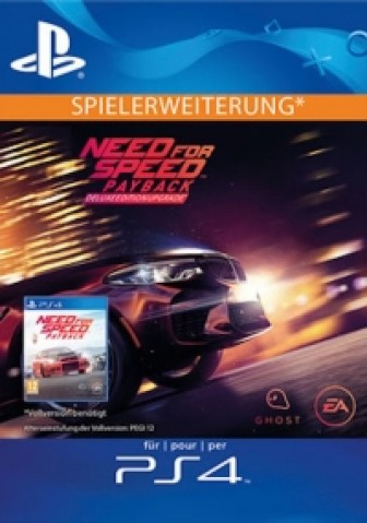 Need for Speed: Payback - Deluxe Upgrade (DLC) - PS4 Code