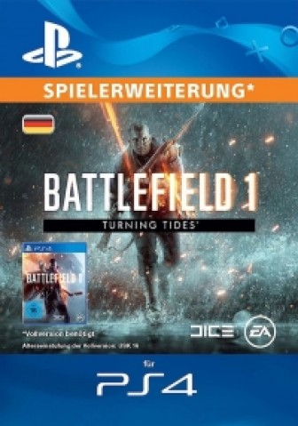 Battlefield 1: Turning Tides (DLC) - PS4 Code