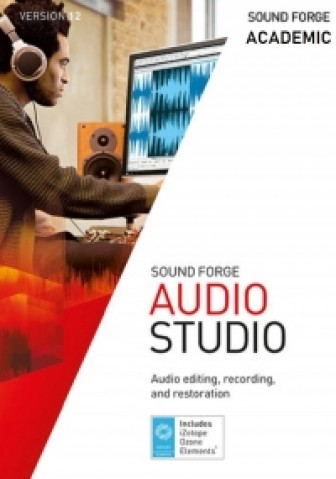 Sound Forge Audio Studio 12 - Academic
