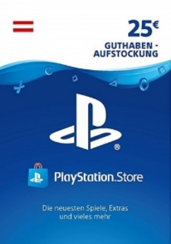 PSN Card 25 Euro AT (Österreich) - Playstation Network