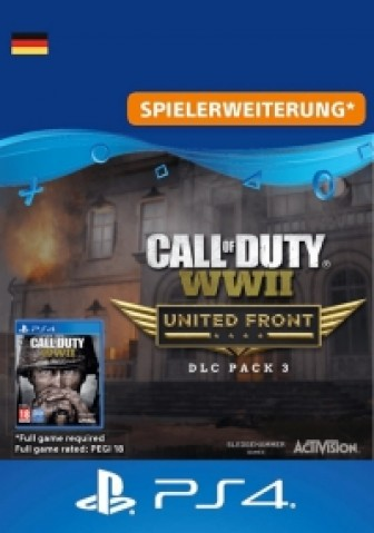 Call of Duty: WWII - United Front: DLC-Pack 3 - PS4 Code
