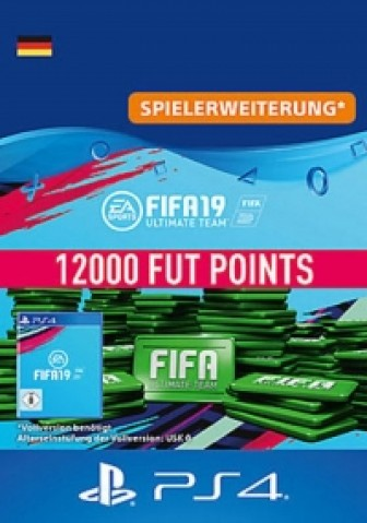 FIFA 19 Ultimate Team - 12000 FIFA Points - PS4 Code