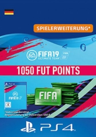 FIFA 19 Ultimate Team - 1050 FIFA Points - PS4 Code