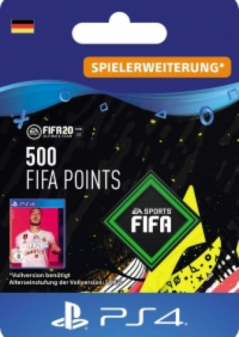 FIFA 20 Ultimate Team - 500 FIFA Points - PS4 Code