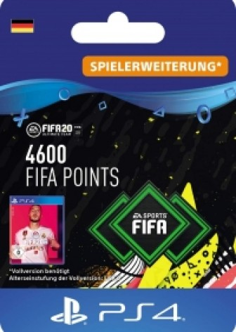 FIFA 20 Ultimate Team - 4600 FIFA Points - PS4 Code