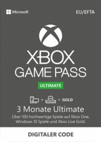 Xbox Game Pass Ultimate - 3 Monate