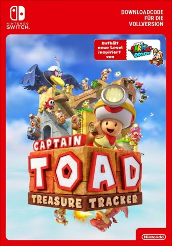 Captain Toad: Treasure Tracker - Switch eShop Code
