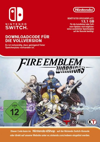 Fire Emblem Warriors - Switch eShop Code