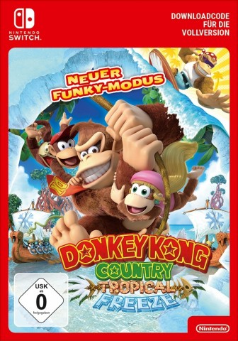 Donkey Kong Country: Tropical Freeze - Switch eShop Code