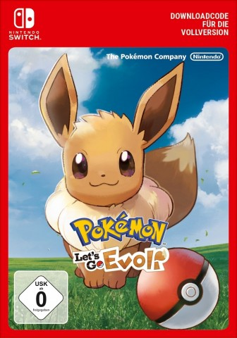Pokemon: Lets Go, Evoli! - eShop Code