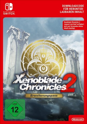 Xenoblade Chronicles 2 Erweiterungspass - eShop Code