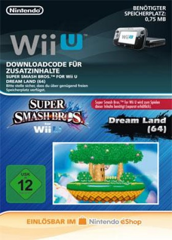 Super Smash Bros. für Wii U - Stage Dream Land (64) - eShop Code