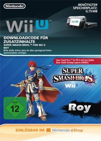Super Smash Bros. für Wii U - Roy - eShop Code