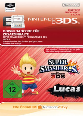 Super Smash Bros. für 3DS - Lucas - eShop Code