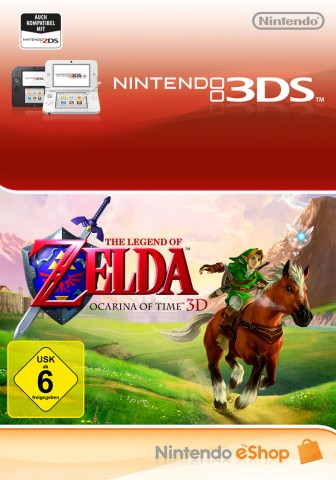 The Legend of Zelda: Ocarina of Time 3D - eShop Code