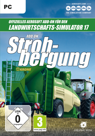 Landwirtschafts-Simulator 17 -  Strohbergung Add-On