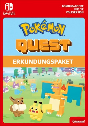 Pokemon Quest: Erkundungspaket - Switch eShop Code