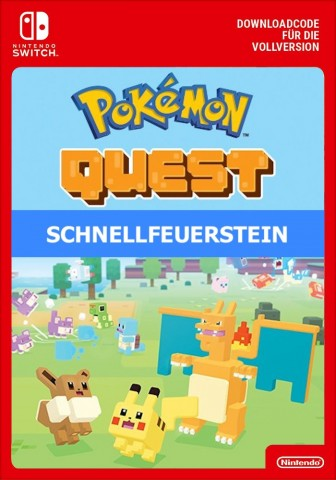 Pokemon Quest: Schnellfeuerstein - Switch eShop Code