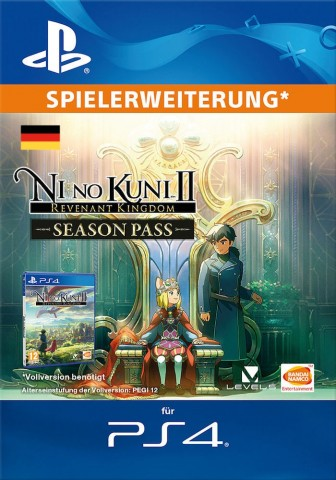 Ni no Kuni™ II Revenant Kingdom - Season Pass - PS4 Code