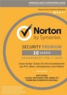 Norton Security 3.0 Premium - 10 User - 1 Jahr