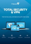 F-Secure Total Security & VPN 2017 - 5 User - 1 Jahr