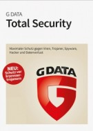 G Data Total Security 2017 - 1 User - 2 Jahre